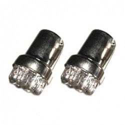 Lampada Ba15 LED branco 9 LED
