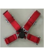 Arneses, clip de cinturón de seguridad